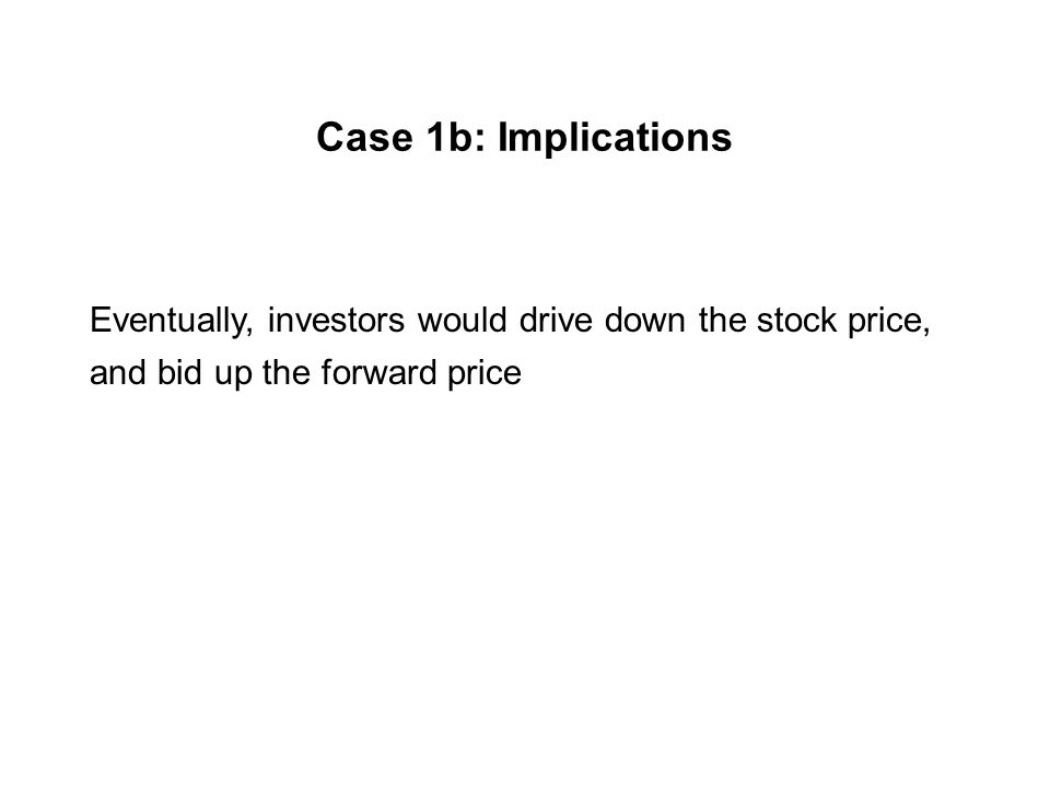 Case 1b: Non-dividend paying investment asset The forward price of a contract expiring in three months is $39.