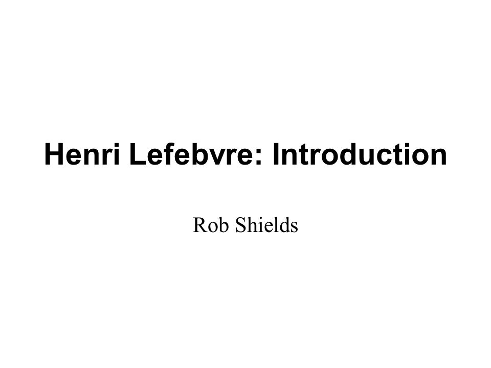 Method Lefebvre's projective-retrojective method was, according to Lefebvre, implicit in Marx - notably The German Ideology - but it is Lefebvre who gives it the clarity and explicit status of a research method.