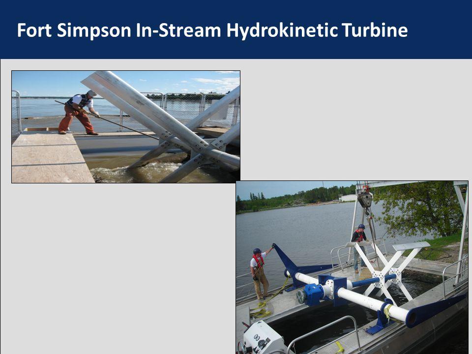 Fort Simpson In-Stream Hydrokinetic Turbine