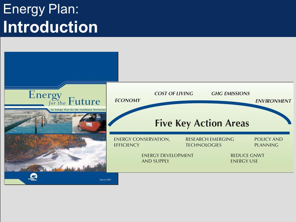 Energy Plan: Introduction