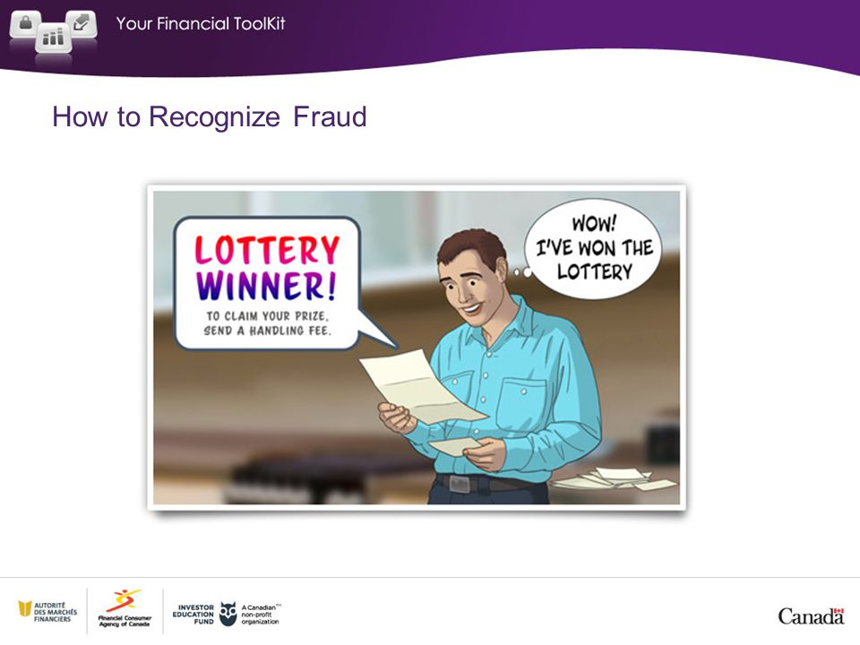 How to Recognize Fraud