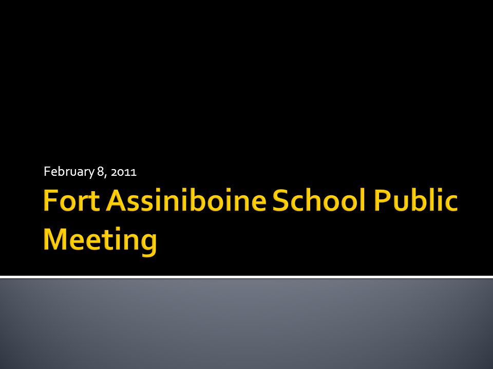  To discuss the possible school closure of grades 10- 12 at Fort Assiniboine School  The following motion was passed by the Board of Trustees of PHRD:  Moved by Trustee Volorney that the Board of Trustees commence the process to consider school closure; and specifically that the Board of Trustees hereby serves notice that a motion to close the senior high program (grades 10 to 12) at Fort Assiniboine School which is located in Woodlands County, will be debated and voted upon at the Regular Meeting of the Board of Trustees scheduled for March 16, 2011
