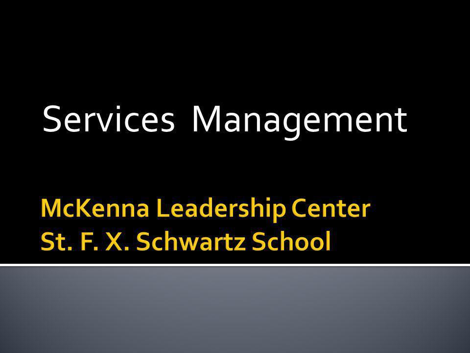 Services Management