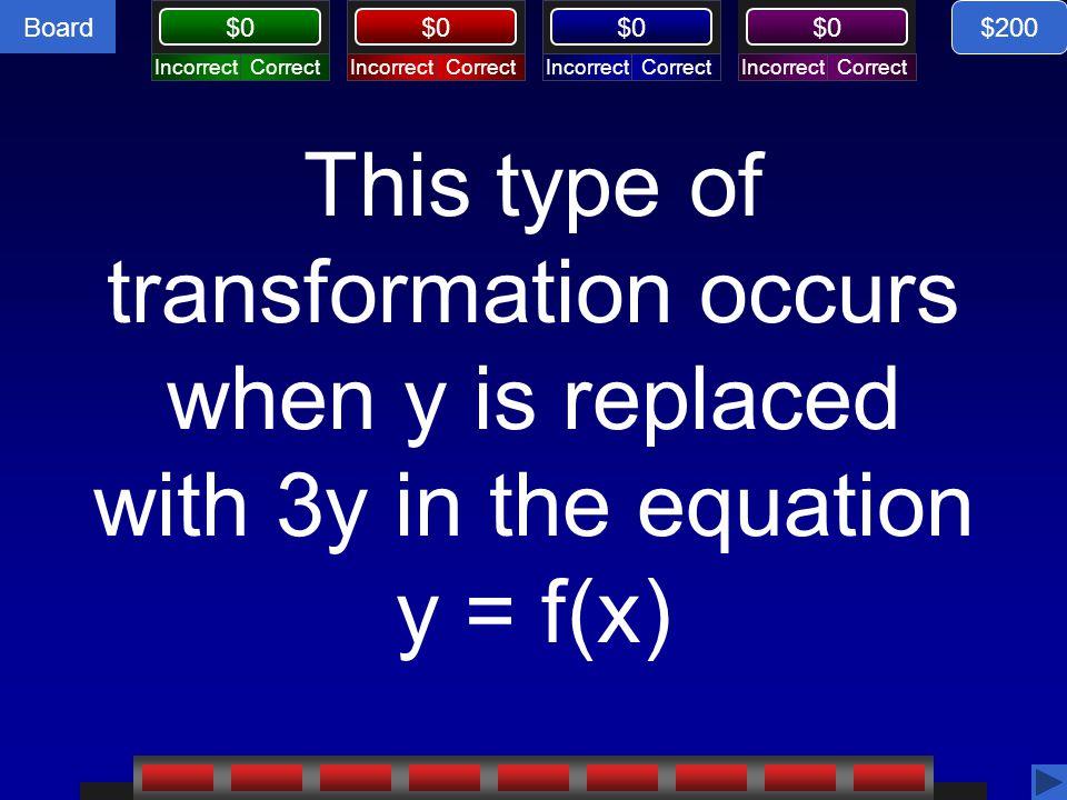 Board $0 Trigonometry 2, $200 response $200 3π to the left