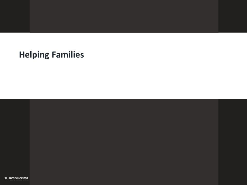 © Harris/Decima Helping Families