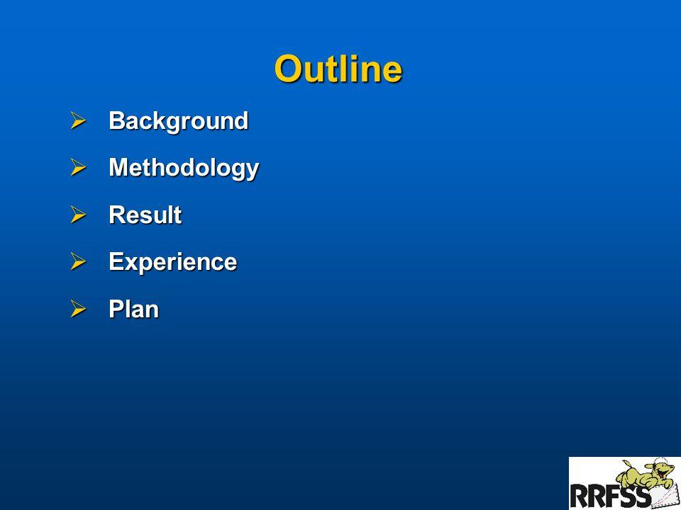 Background  Health unit specific core module results  1999 Durham pilot result  2001 results  6 health units  17 core modules  2002 results  18 health units  15 core modules