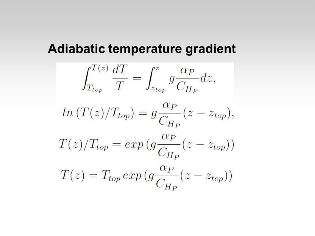 Mantle temperature?