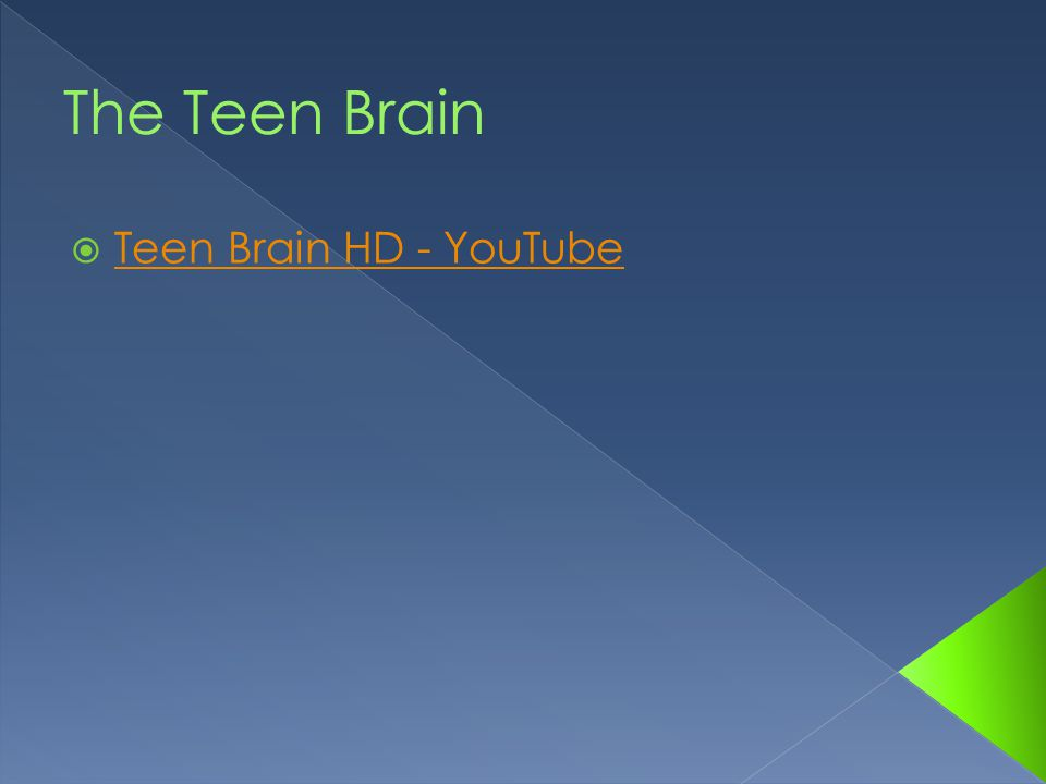  Teen Brain HD - YouTube Teen Brain HD - YouTube