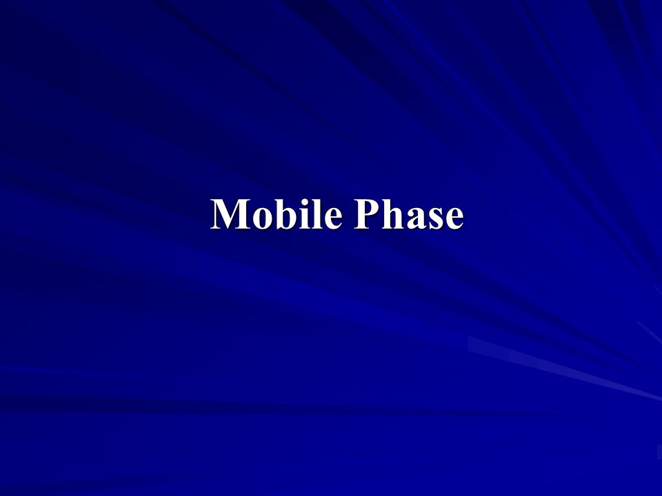 Mobile Phase