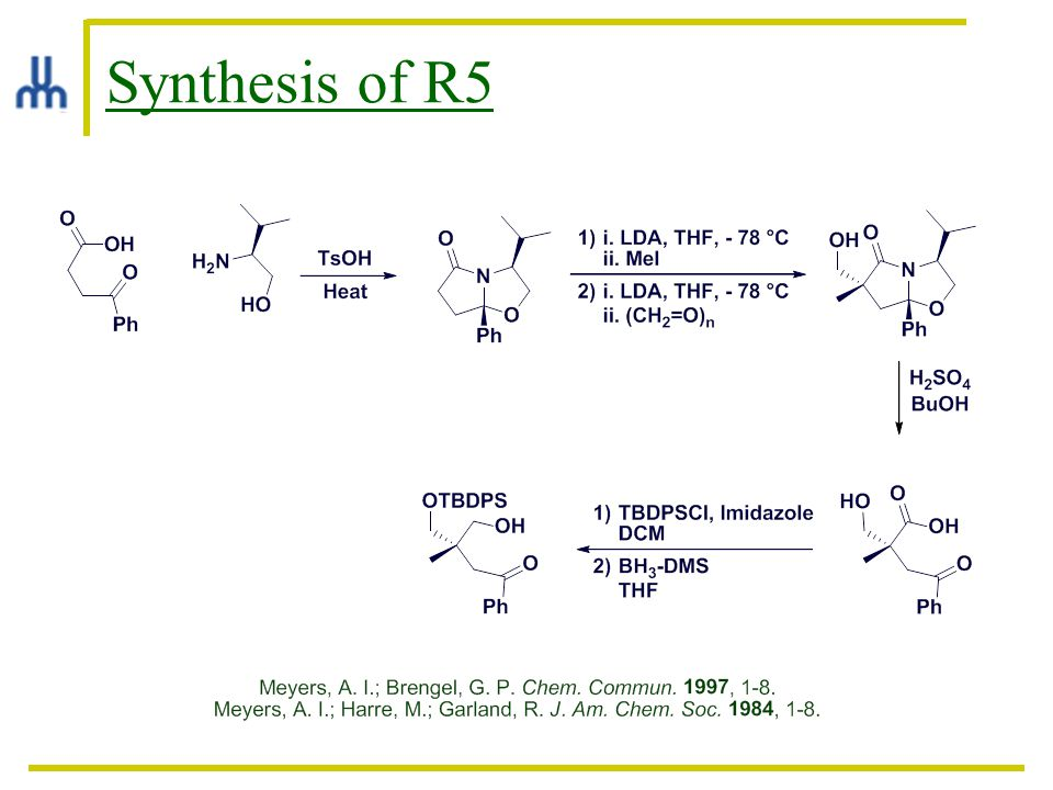 Synthesis of R5