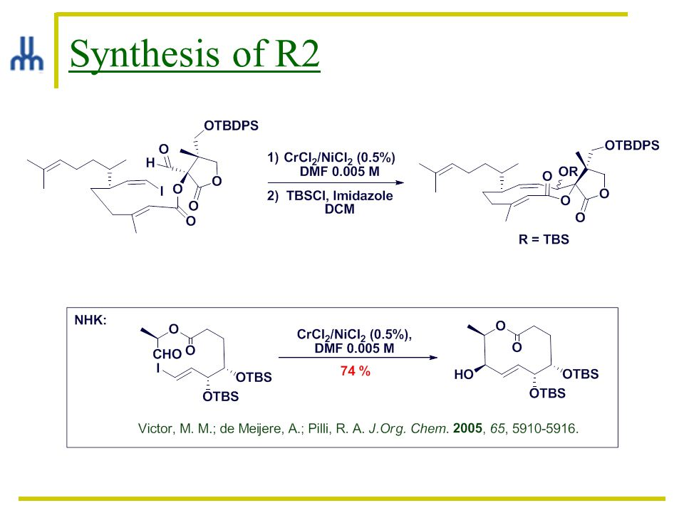 Synthesis of R2