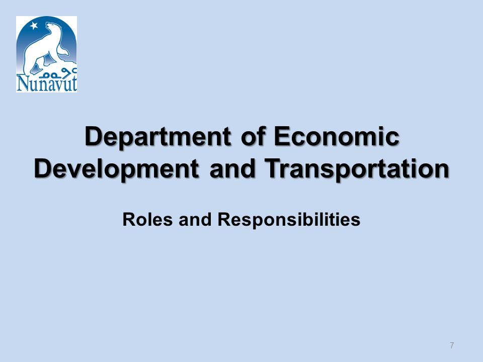 Department of Environment (DOE) Roles and Responsibilities 18