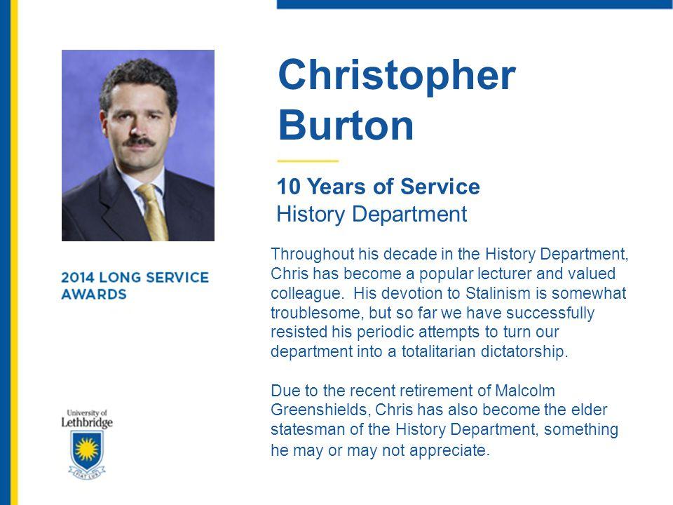 Allan Besplug 25 Years of Service Shipping & Receiving Allan Besplug has seen a lot of change in the last 25 years.