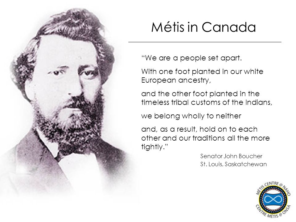 Métis Identity Population One in three Aboriginal people is Métis — 30% of the total Aboriginal population Statistics Canada's 2001 Census About 295,000 report Métis identity Fastest growing Aboriginal population High numbers live in western cities