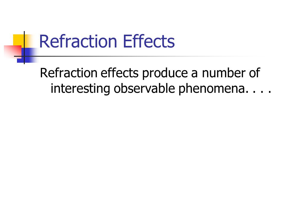 Dispersion in Water Droplets Dispersion and total internal reflection can occur in water droplets in the air: