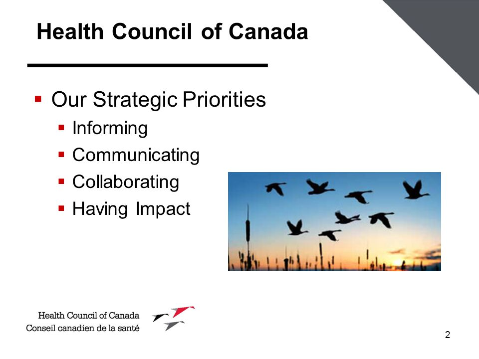 2  Our Strategic Priorities  Informing  Communicating  Collaborating  Having Impact