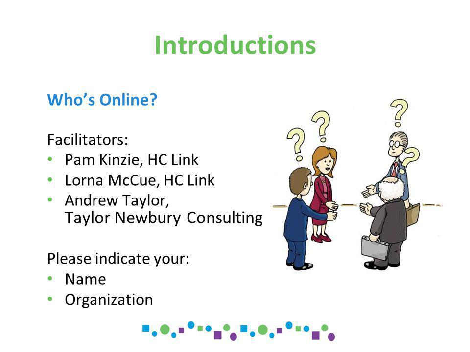 Introductions Who's Online.