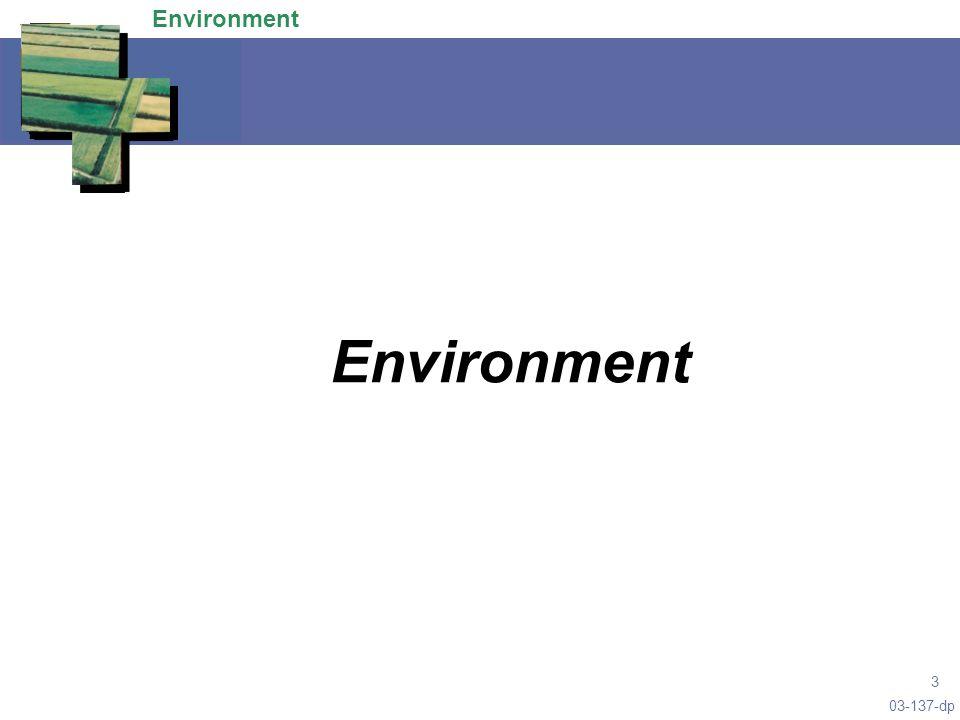 03-137-dp 3 Environment