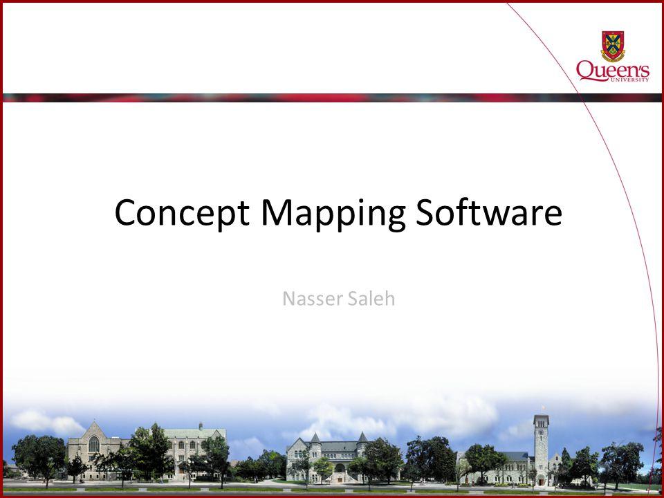 Concept Mapping Software Nasser Saleh