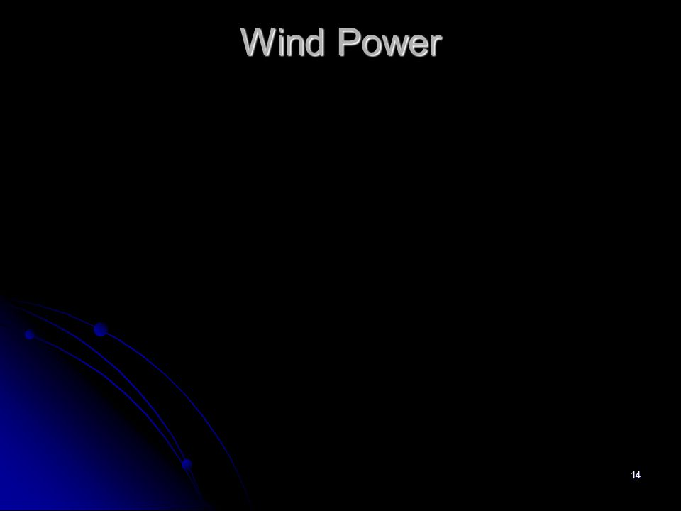 14 Wind Power