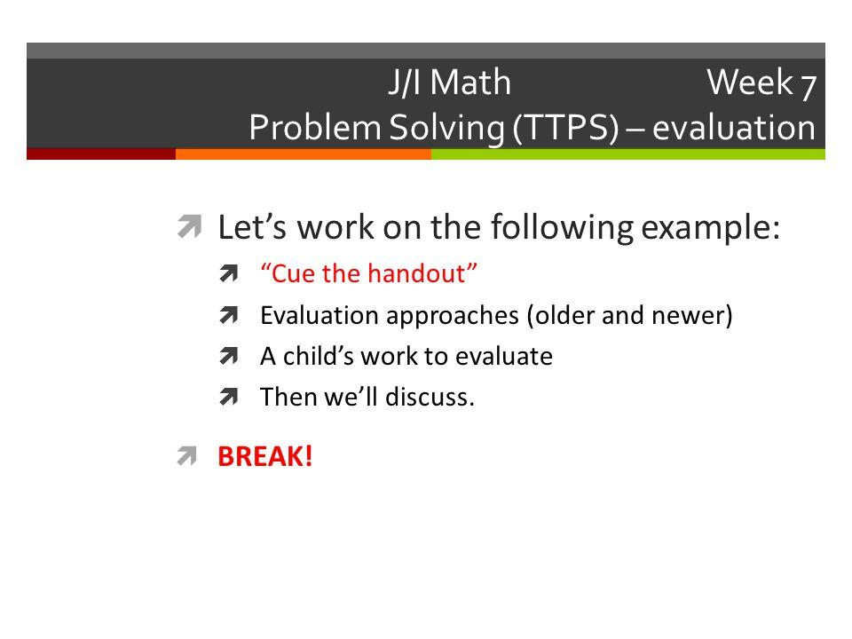 J/I Math......