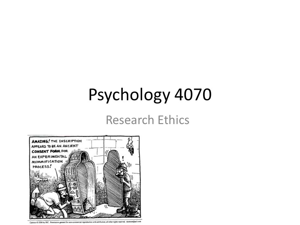 What is the Purpose of Research Ethics.