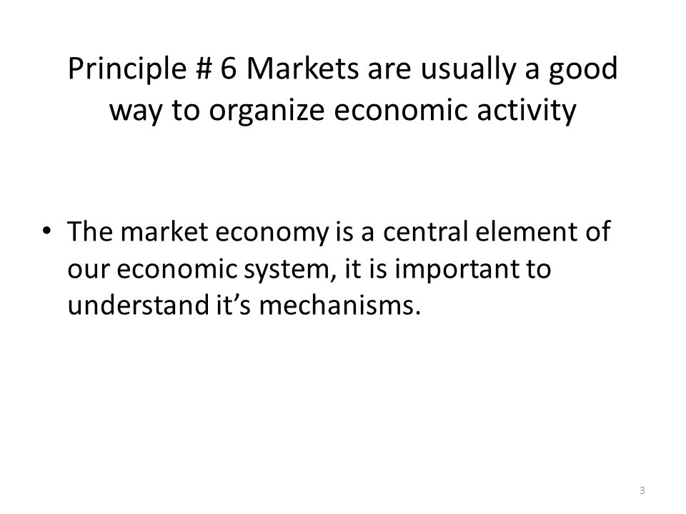 4 The market: demand and supply What's the demand.