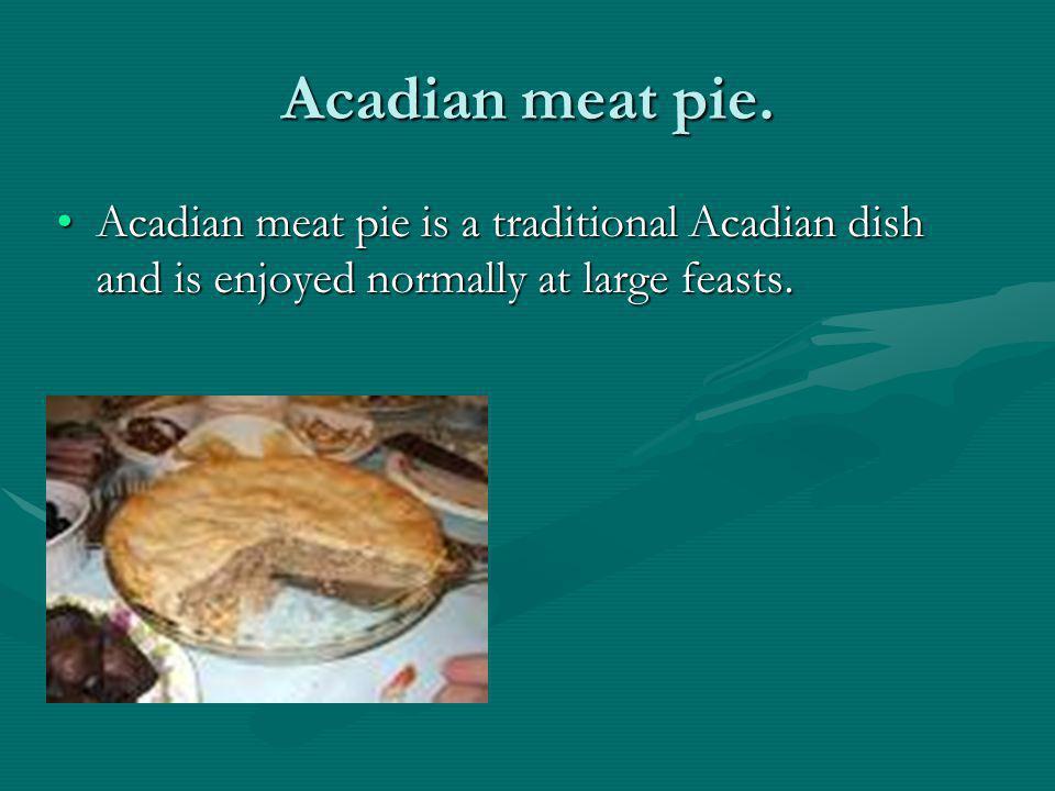 Acadians expulsion.