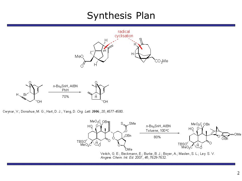 22 Synthesis Plan