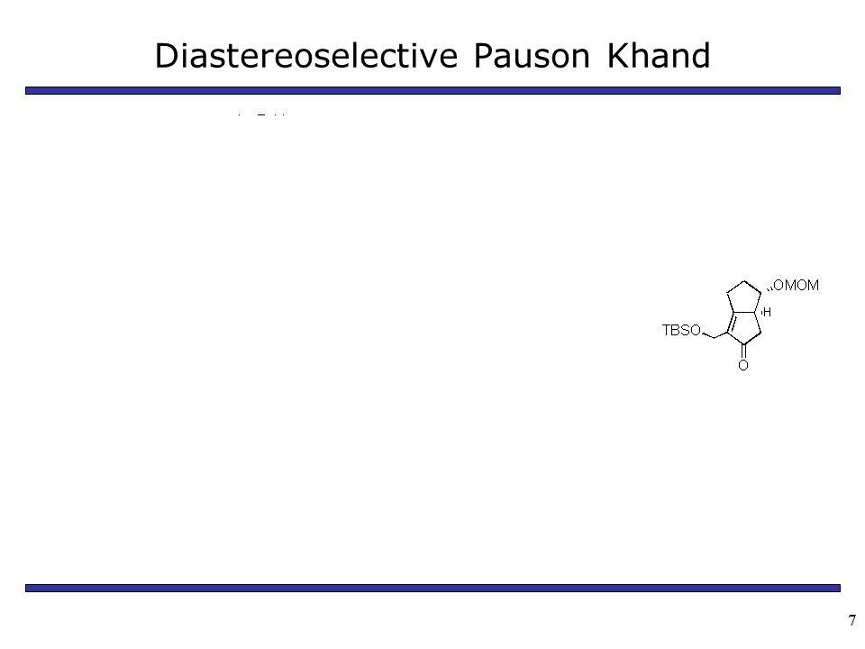 77 Diastereoselective Pauson Khand