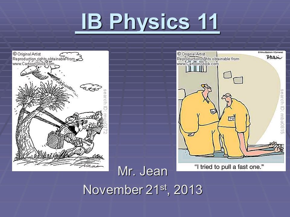The plan:  Video clip of the day  Potential Energy  Kinetic Energy  Restoring forces  Hooke's Law  Elastic Potential Energy