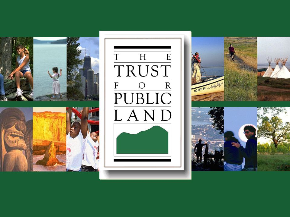© 2002 The Trust for Public Land Conserving Land for People 14