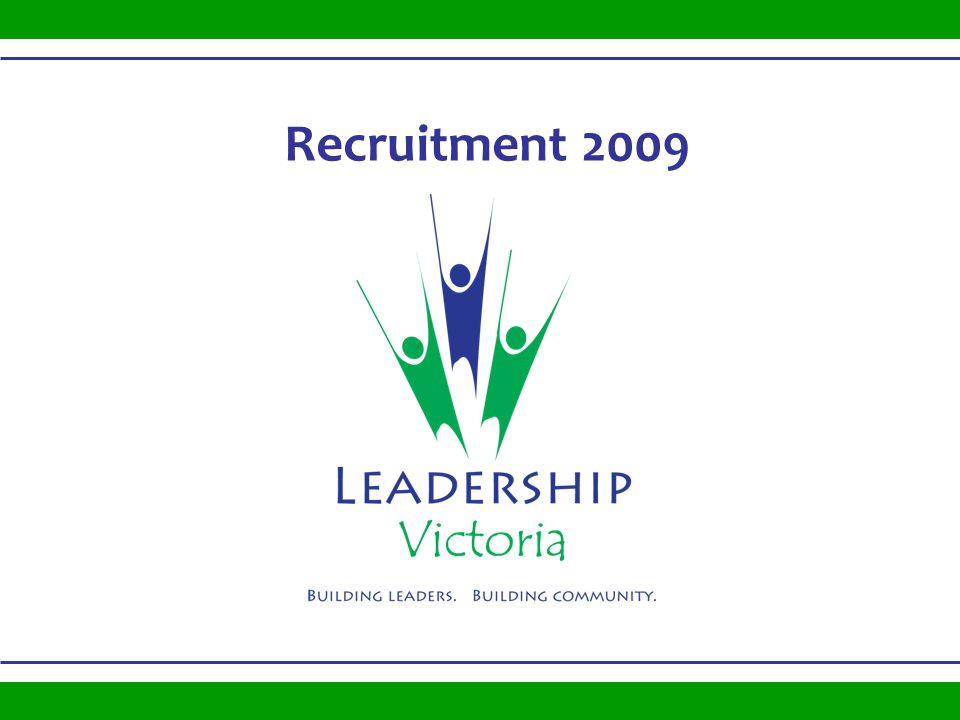Recruitment 2009