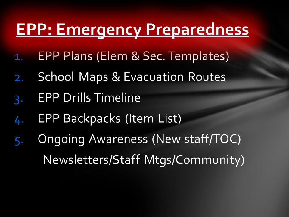 1.EPP Plans (Elem & Sec.