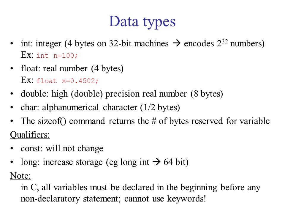 Preprocessor statements #include inserts the entire content of a file, verbatim.