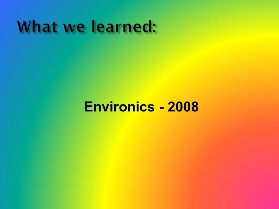 Environics - 2008