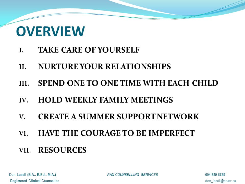 What is your parenting style.