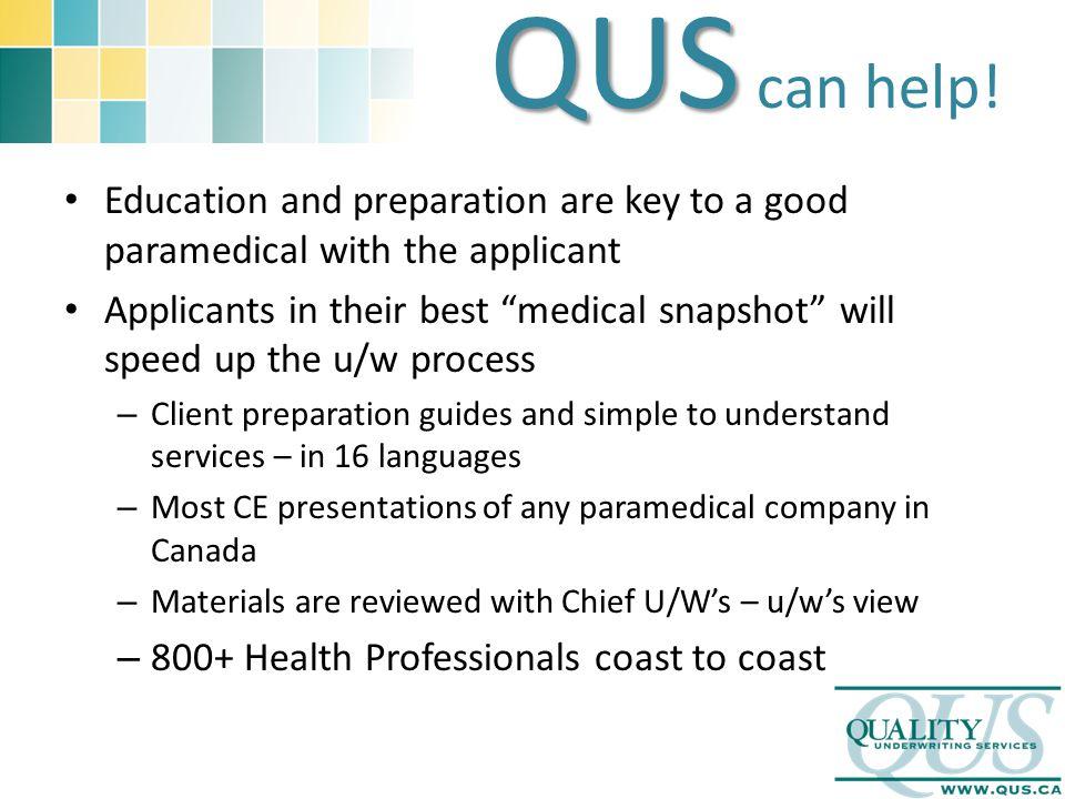 QUS QUS can help.