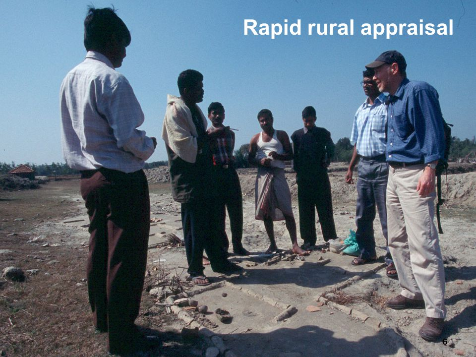 Rapid rural appraisal 6