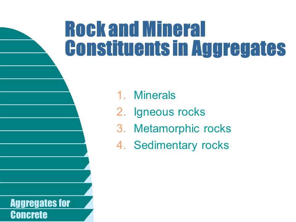 Aggregates for Concrete Videos 1/6 AggregatesGrading curves