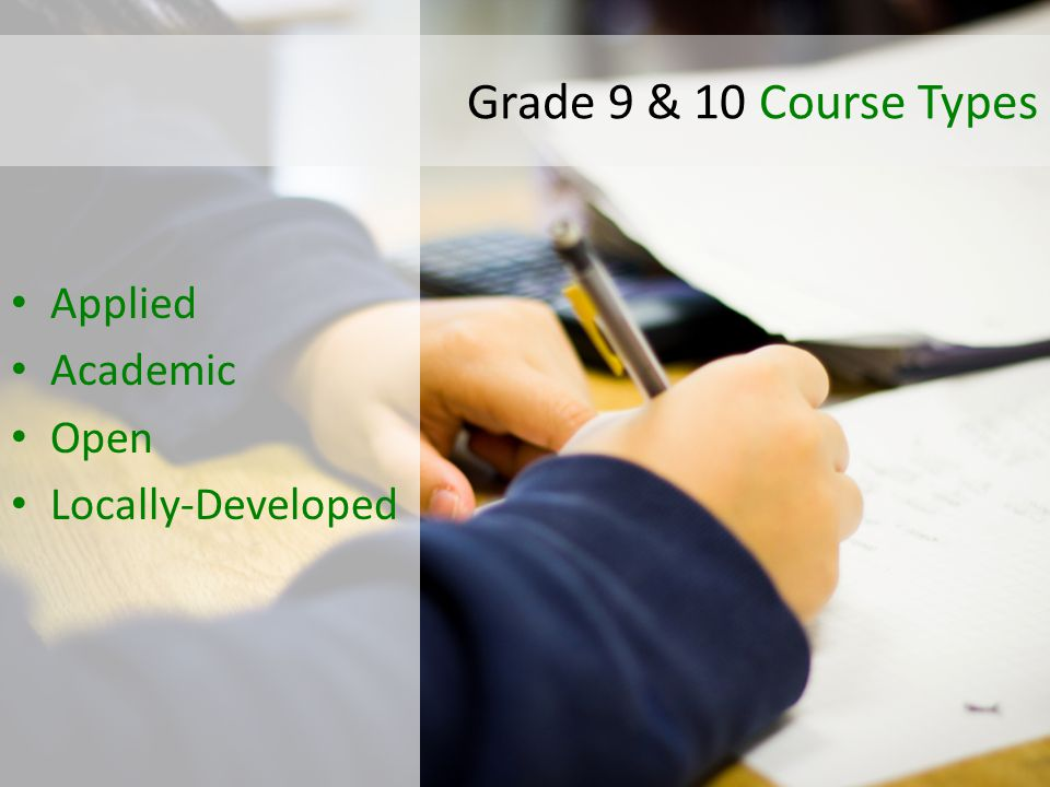 ENG1P1 Grade Course Type Subject MCI Specific Understanding Course Codes