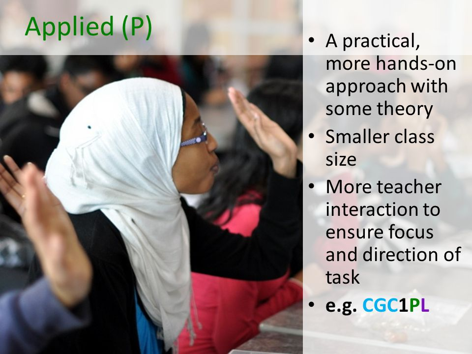 Academic (D) Theoretical in Approach Abstract Thinking Self-Directed Learning/Independent Learner Larger Class Size e.g.