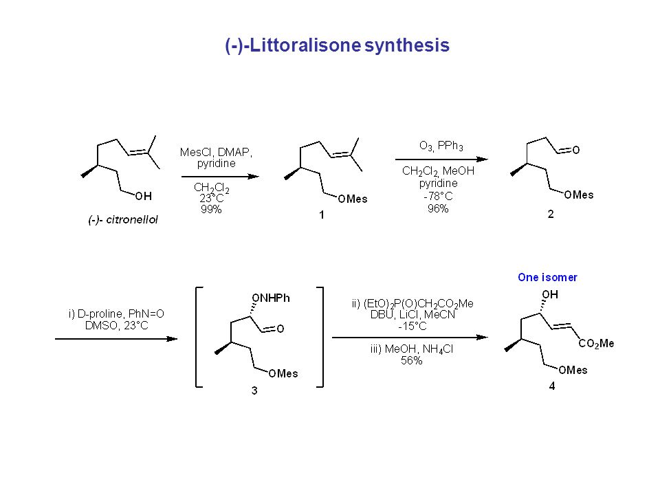 (-)-Littoralisone synthesis
