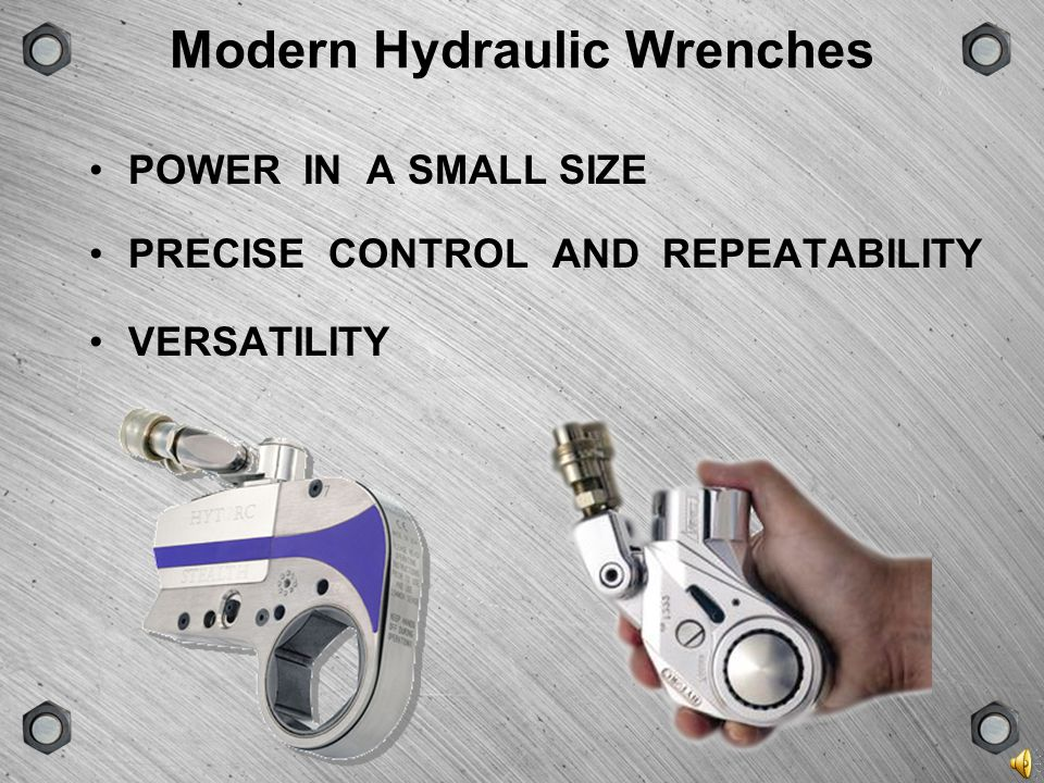 GROUPSCENEVERSIONTYPE Many Kinds of Bolting Tools impact guns bolt heaters tensioners cheater bars Hydraulic Wrench