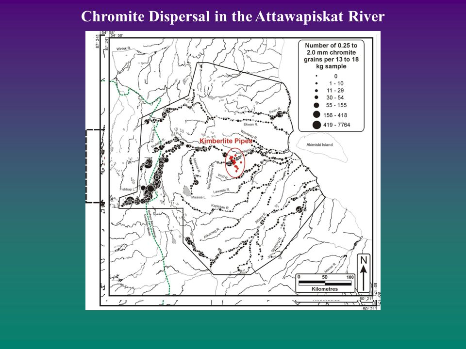 Chromite Dispersal in the Attawapiskat River