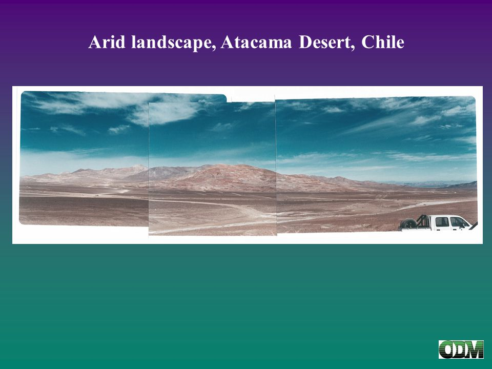 Arid landscape, Atacama Desert, Chile