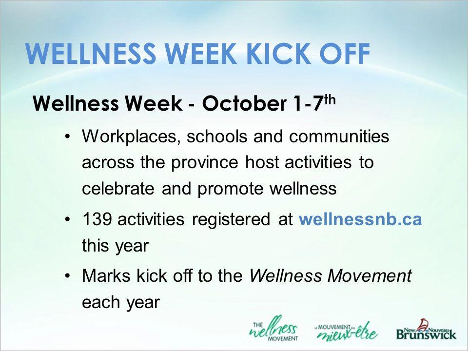 WORKPLACES Success story: NB Workplace Wellness Community of Practice www.heartandstroke.nb.ca/workplacewellness www.heartandstroke.nb.ca/workplacewellness Take 5.