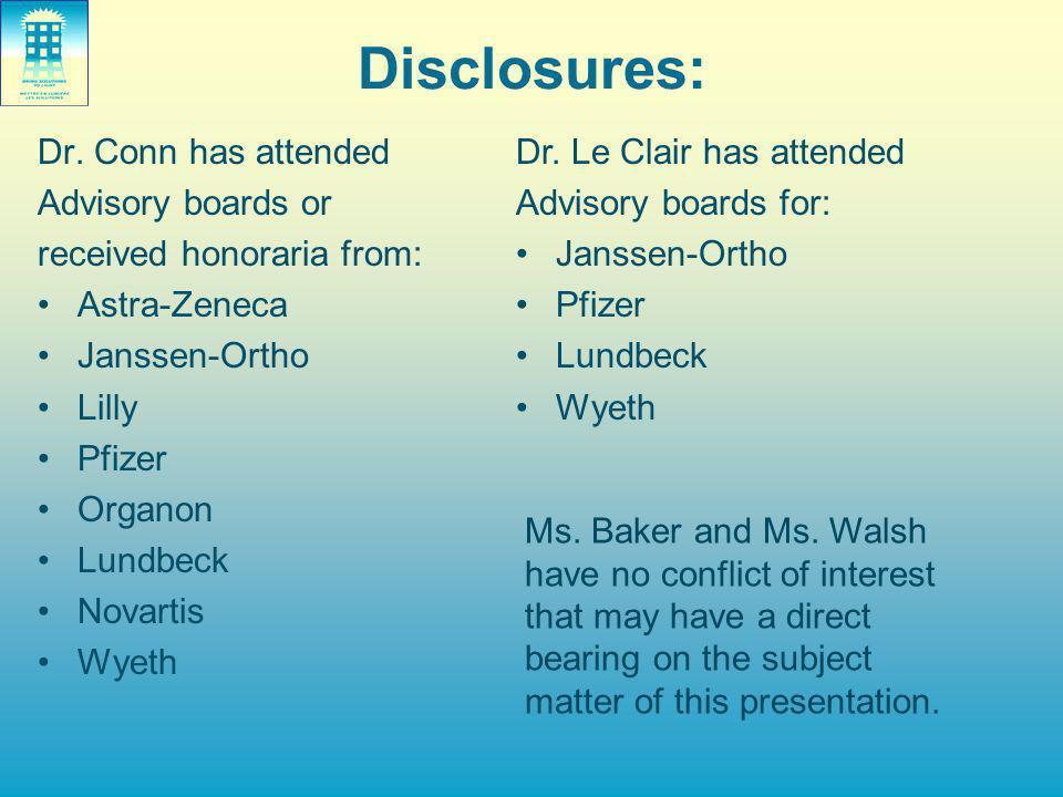 Disclosures: Dr.