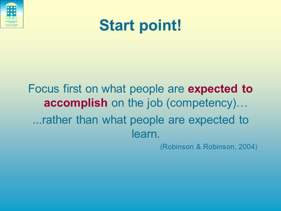 Start point.