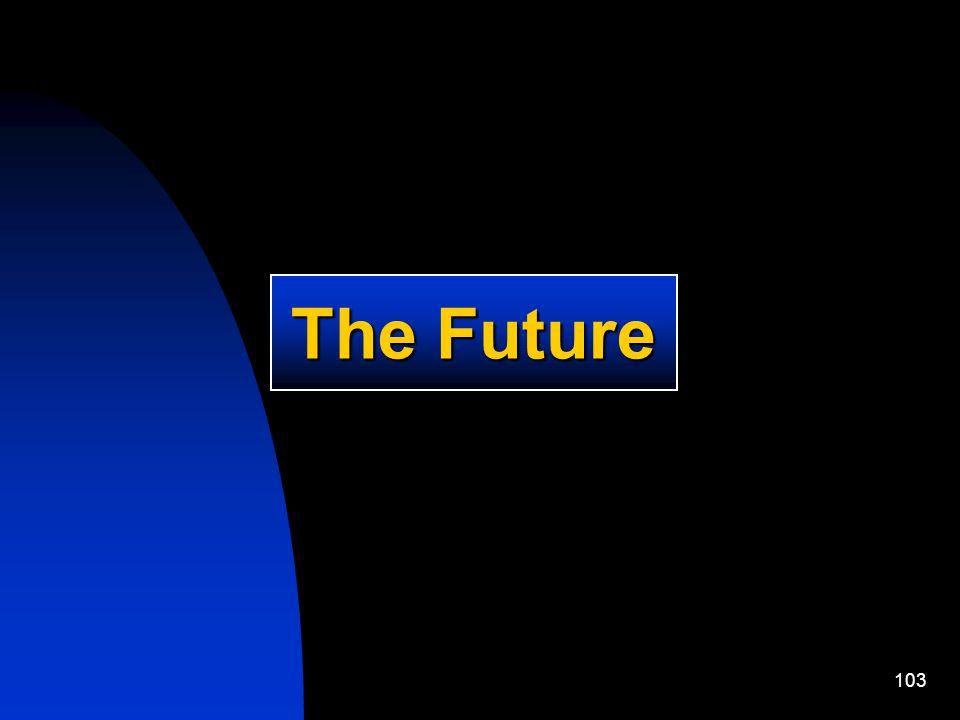103 The Future